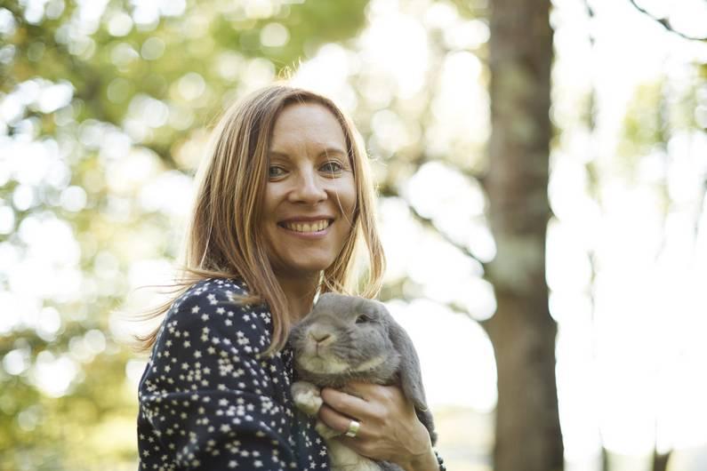 Je suis une blogueuse à lapin | Jupette & Salopette