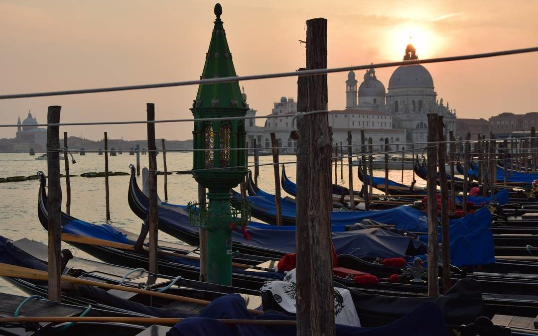 Pont de novembre à Venise
