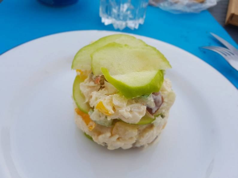 Millefeuille de crabe | Jupette & Salopette