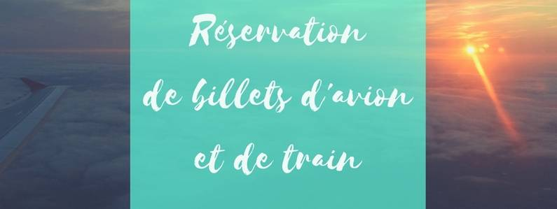 Réservation de billets d'avion et de train | Jupette & Salopette