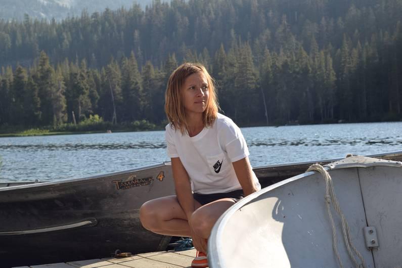 Look Nike à Mammoth Lakes | Jupette & Salopette