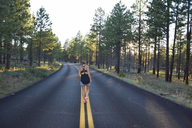 Look Nike à Bryce Canyon | Jupette & Salopette