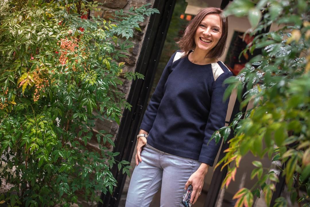 Shooting pour la créatrice Nantaise Julie Laurent | Jupette & Salopette