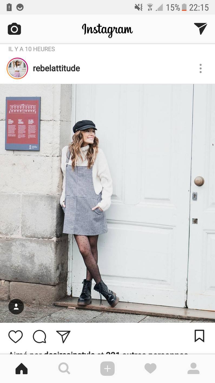 La salopette robe by Rebelattitude | Jupette & Salopette