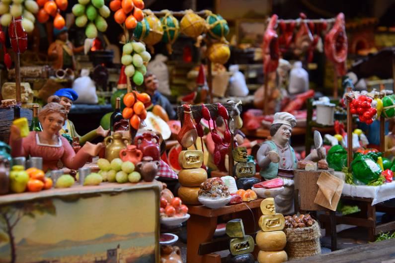 Crèches et les santons à Naples | Jupette & Salopette
