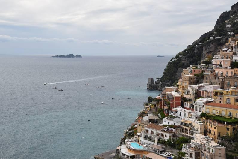 La côte amalfitaine Positano | Jupette & Salopette