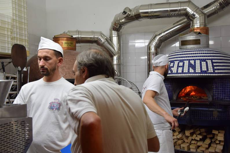 Naples restaurant Brandi | Jupette & Salopette