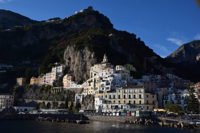 La côte amalfitaine Amalfi | Jupette & Salopette