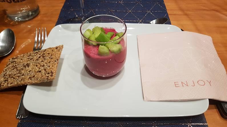 Mousse betterave et concombre | Jupette & Salopette