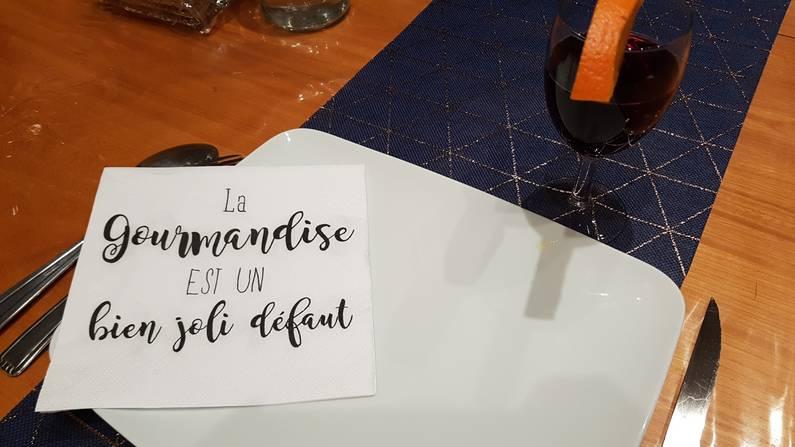 La gourmandise est un bien joli défaut | Jupette & Salopette