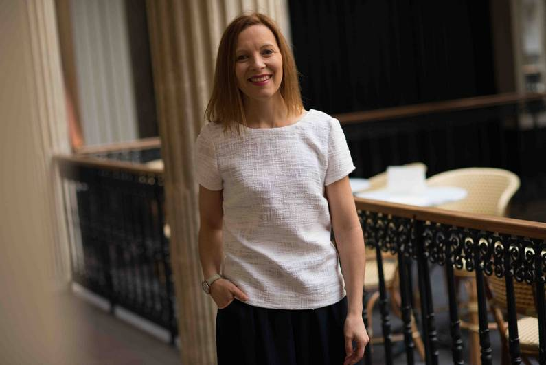 Blouse Swann par la créatrice Julie Laurent | Jupette & Salopette