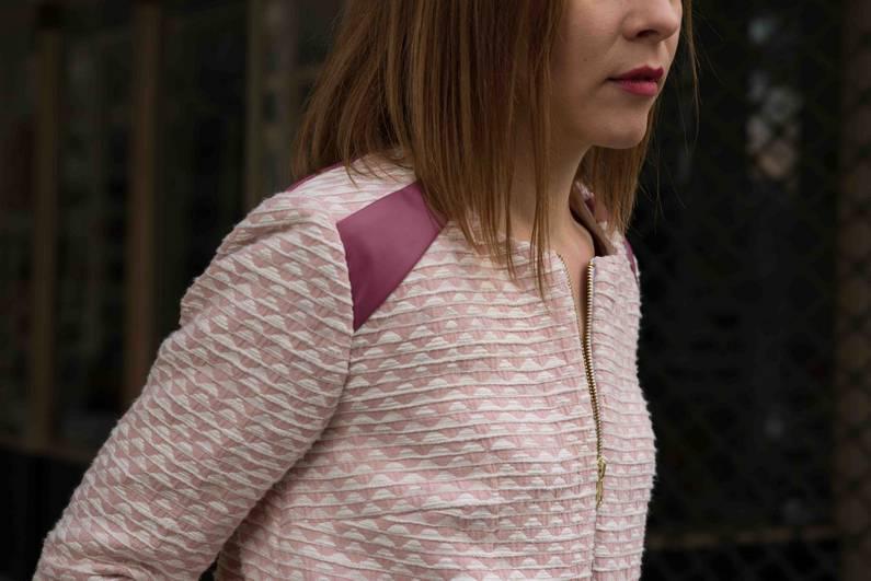 Veste Emma par la créatrice Julie Laurent | Jupette & Salopette