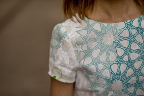 Blouse Swann Linen par la créatrice Julie Laurent | Jupette & Salopette
