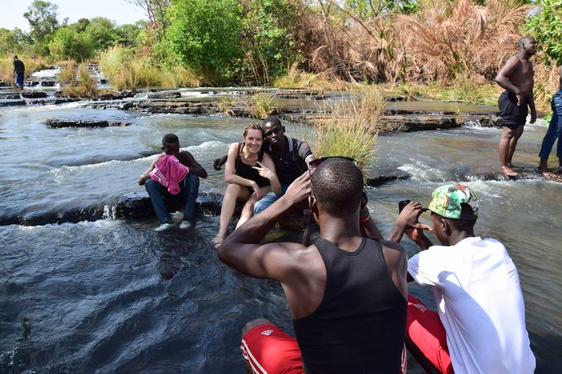 Cascades de Banfora au Burkina Faso | Jupette & Salopette