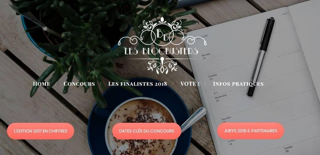 Le blog primé aux Blogbusters 2018 !