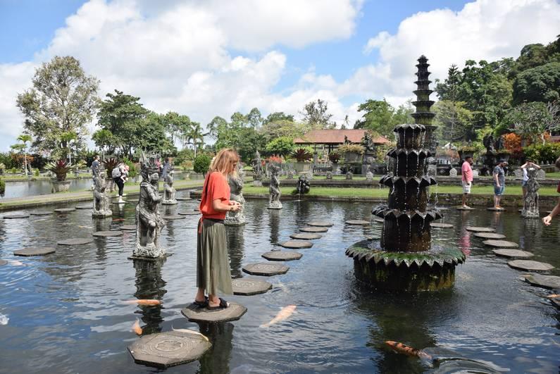 Palais Tirtagangga à Bali | Jupette & Salopette