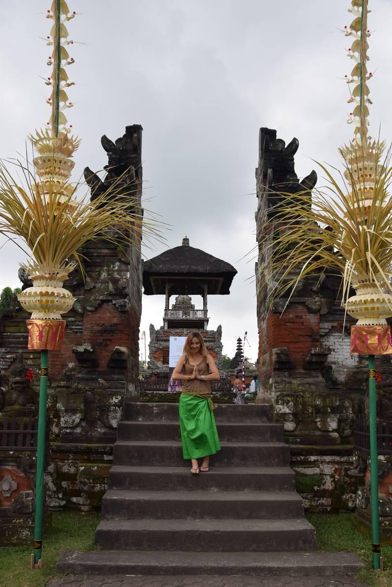 Temple Taman Ayun à Bali | Jupette & Salopette