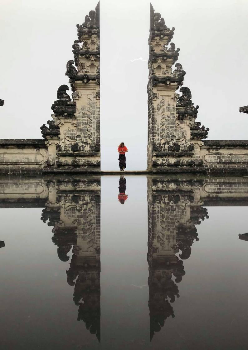 Temple Lempuyang à Bali | Jupette & Salopette