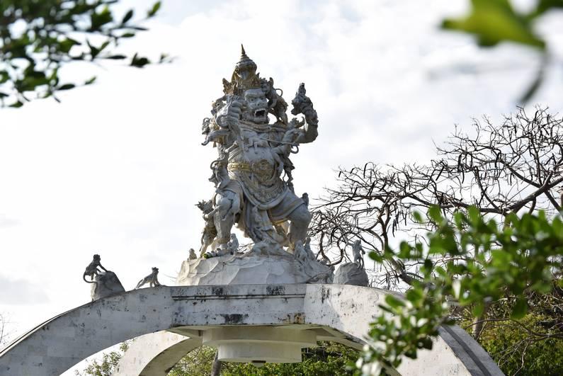 Uluwatu Temple à Bali | Jupette & Salopette