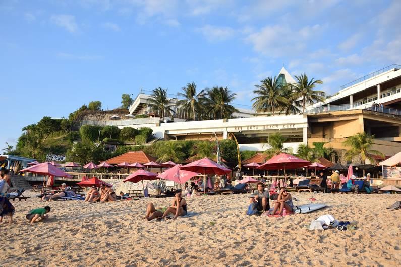 Dreamland Beach à Bali | Jupette & Salopette