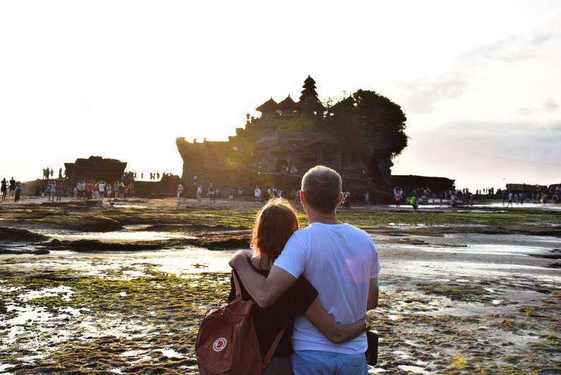 Pura Tanah Lot à Bali | Jupette & Salopette