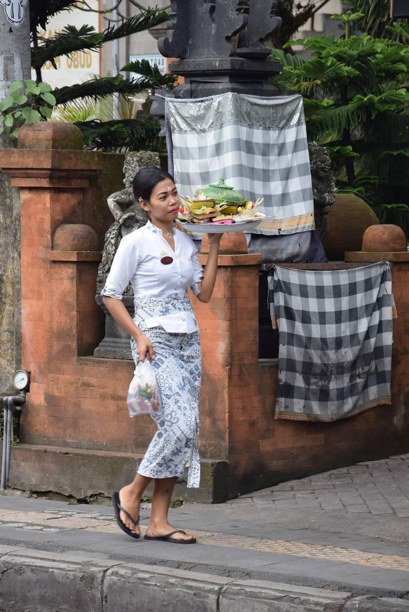 Offrandes à Bali | Jupette & Salopette