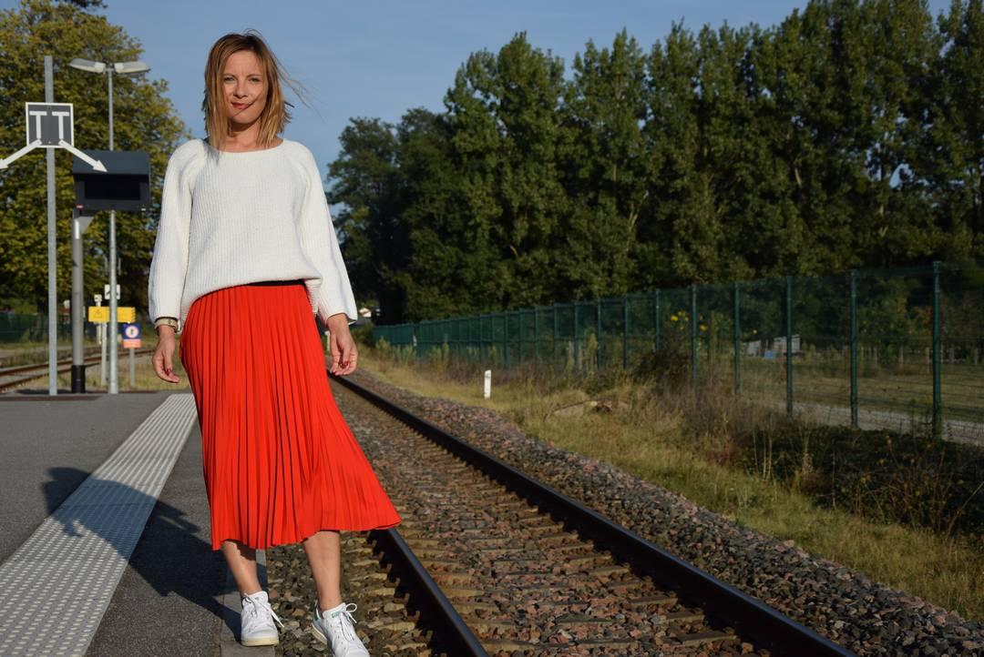 Une rentrée stylée en jupe longue | Jupette & Salopette