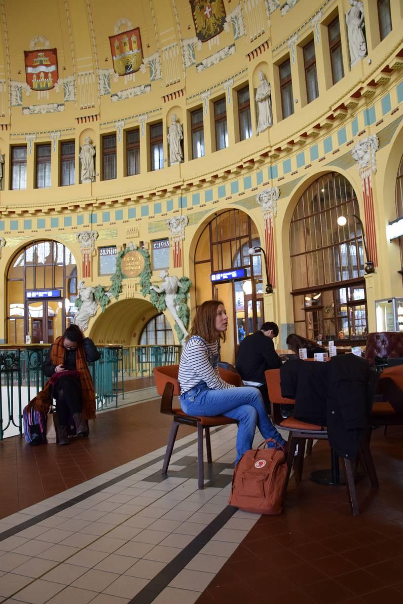 gare centrale de Prague