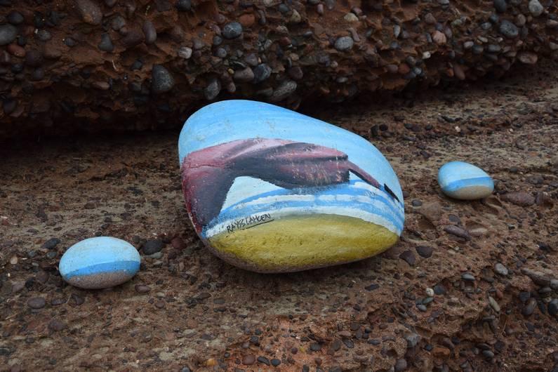 Cailloux sur la plage de Legzira | Jupette & Salopette