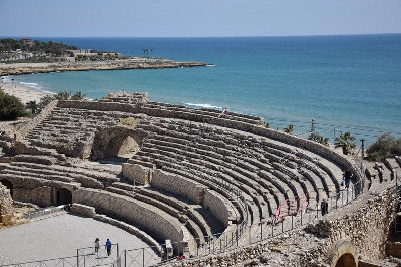 Amphithéâtre romain - Tarragone | Jupette & Salopette