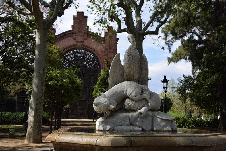 Parc de la Ciutadella - Barcelone | Jupette & Salopette