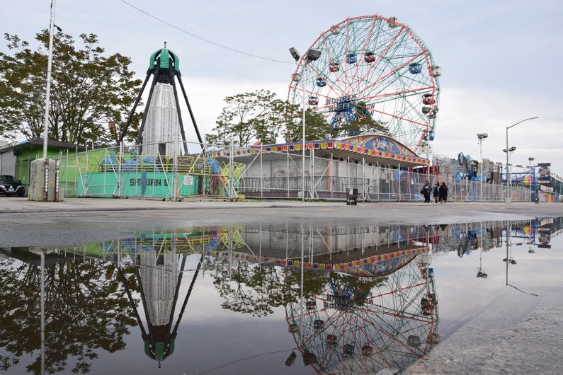 Coney Island - Wonder Wheel   Jupette & Salopette