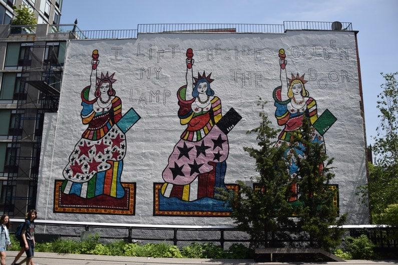 Vues depuis la High Line | Jupette & Salopette
