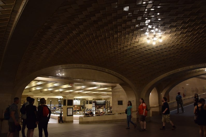 La Whispering Gallery dans Grand Central Station | Jupette & Salopette