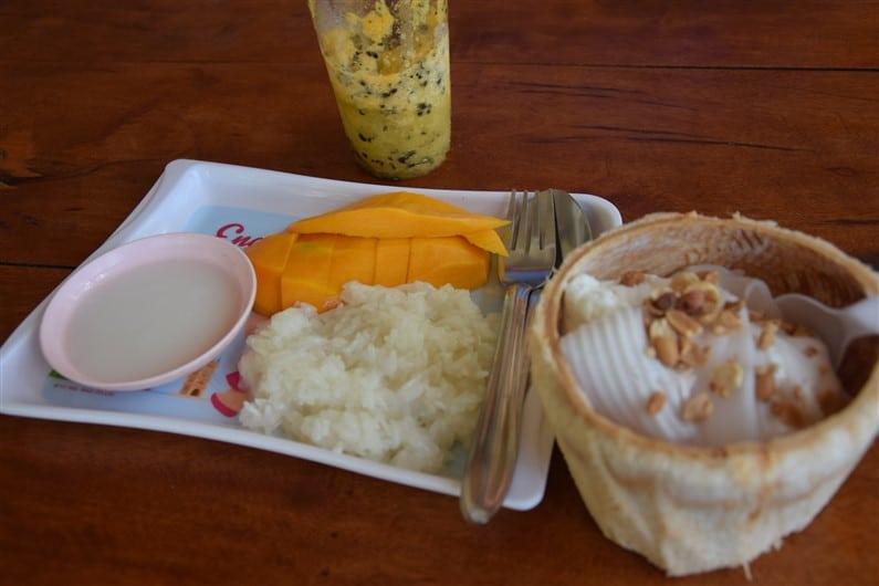 Mango sticky rice | Jupette & Salopette
