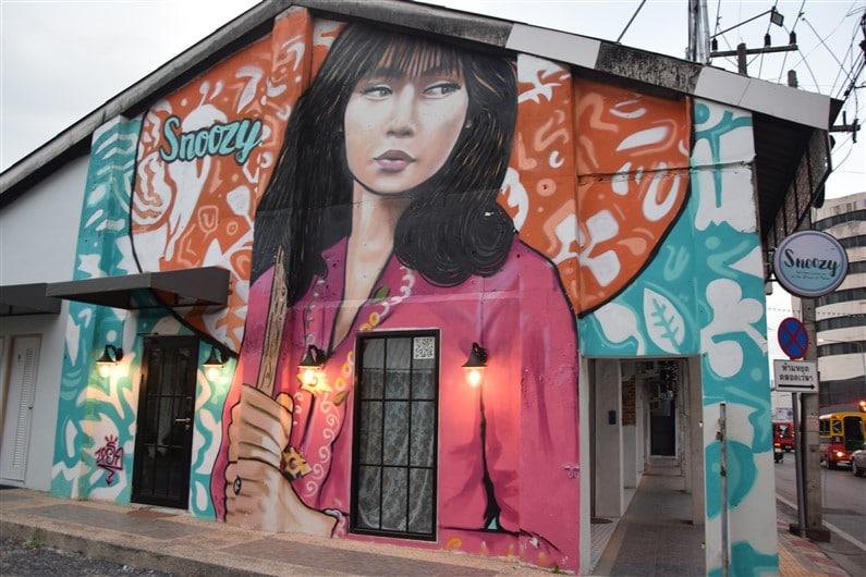 Street Art dans Phuket Town | Jupette & Salopette