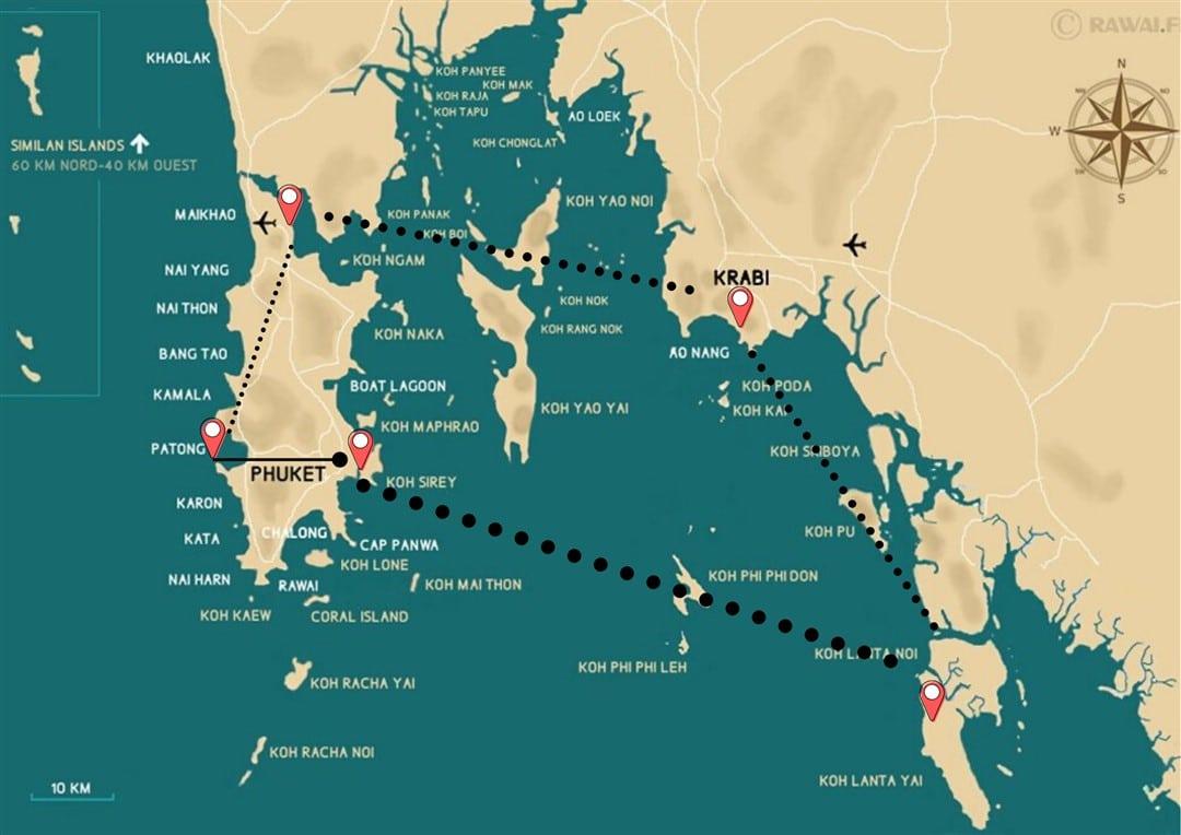 Carnet de voyage sud thaïlande | Jupette & Salopette