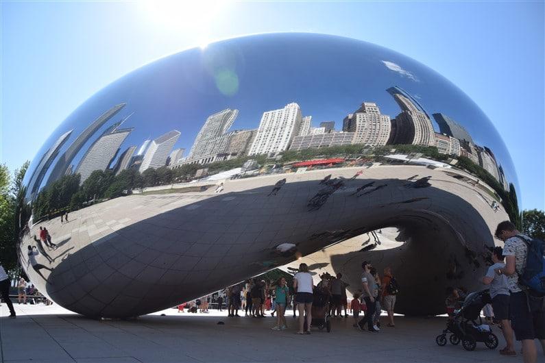 Le Cloud Gate de Chicago | Jupette & Salopette