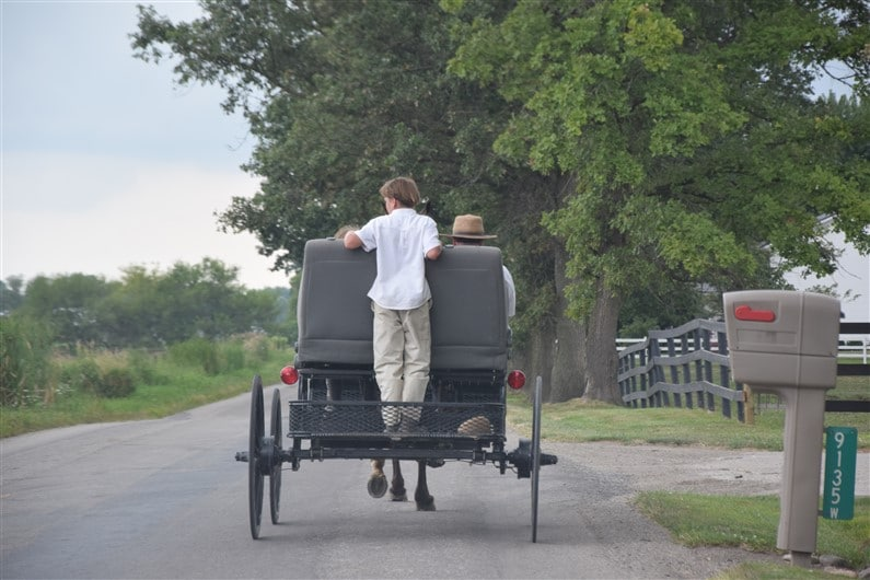 Pays Amish, à Shipshewana | Jupette & Salopette