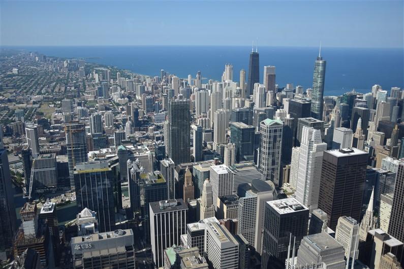 Le skydeck Chicago | Jupette & Salopette