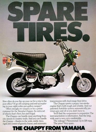 Chappy Yamaha   Jupette & Salopette