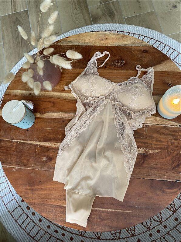 Sous vêtement mariée Maison Jeanne Young | Jupette & Salopette