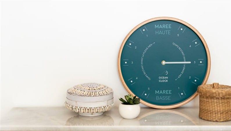 Horloge Ocean Clock | Jupette & Salopette