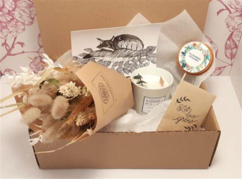 Box Flowers Jue by Julie Robin | Jupette & Salopette