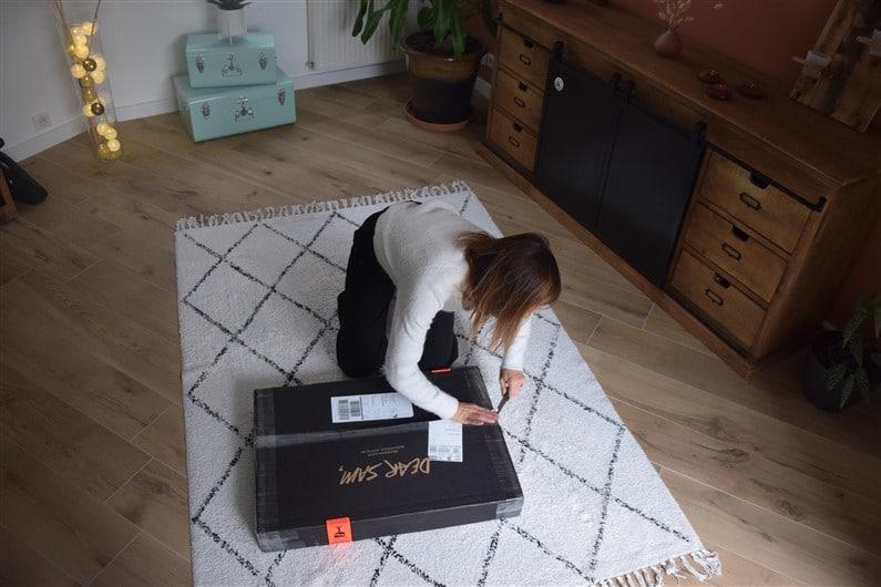 Déballage cartons Dear Sam | Jupette & Salopette