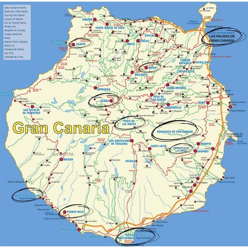 Quoi visiter à Gran Canaria | Jupette & Salopette