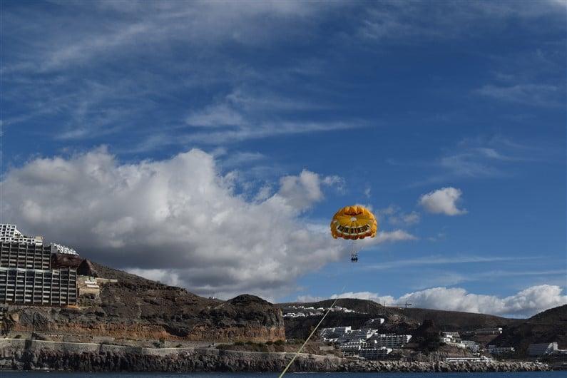Parachute ascensionnel Puerto Rico | Jupette & Salopette