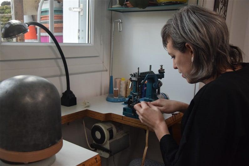 Technique de la paille cousue Studio Grimel