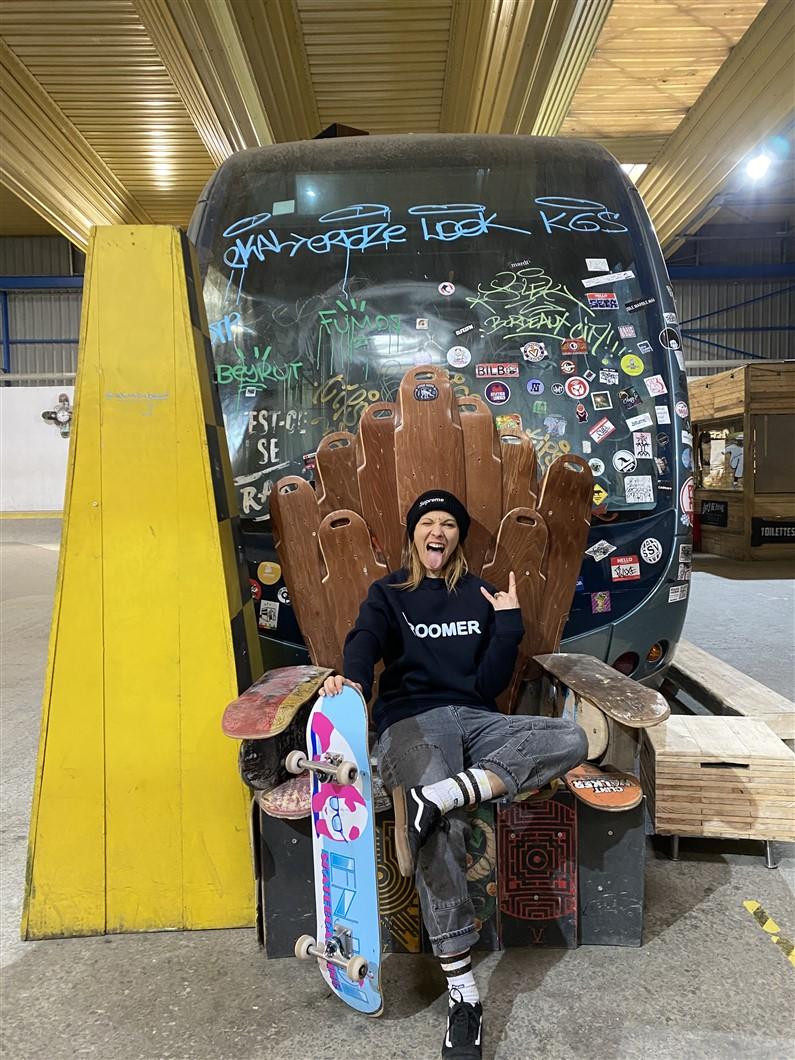 Skater Girl | Jupette & Salopette