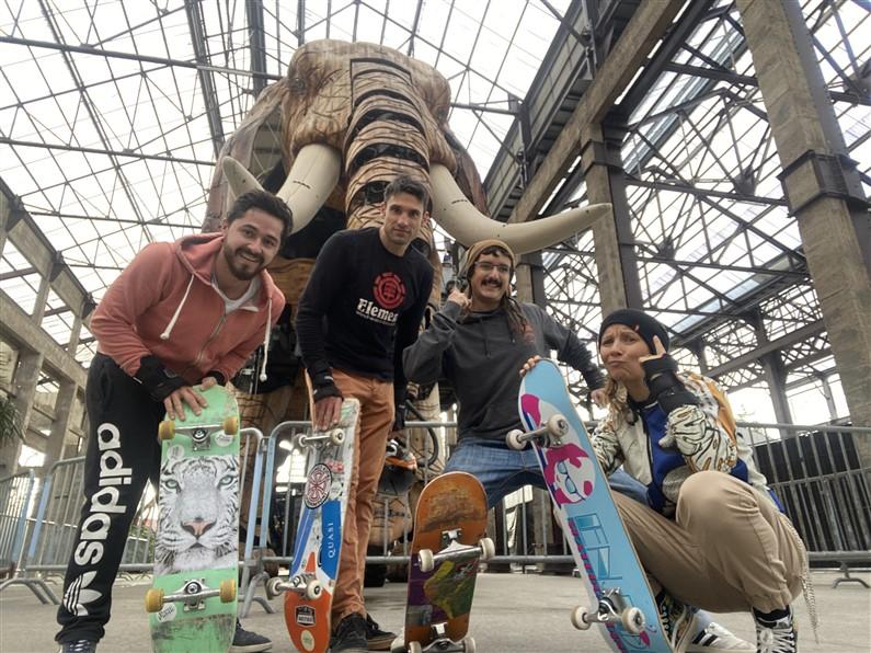 Cours de skate samedi matin nantes Heel Skate School | Jupette & Salopette